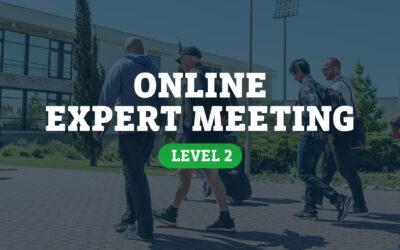 Online Expert Meeting (Level 2)